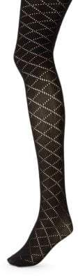 Emilio Cavallini Diamond Knit Tights