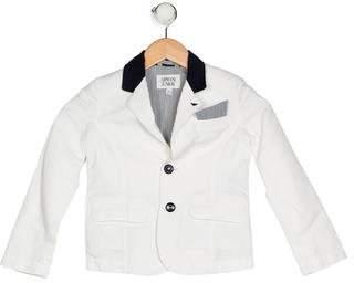 Armani Junior Boys' Linen Blend Blazer