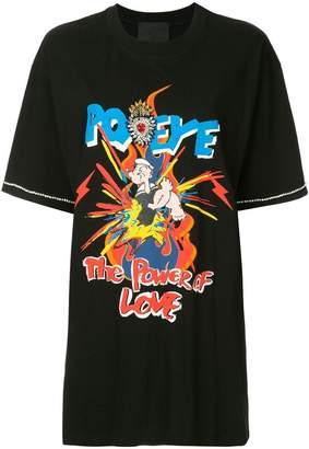Tiger In The Rain Popeye t-shirt