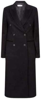 Victoria Beckham Double-Breasted Cashmere Coat