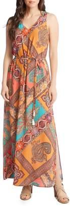 Karen Kane Print Maxi Dress