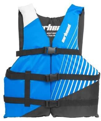 Blue Life Kwik Tek Airhead Ramp Adult Universal Size Open Sided Boating Tube Vest Jacket