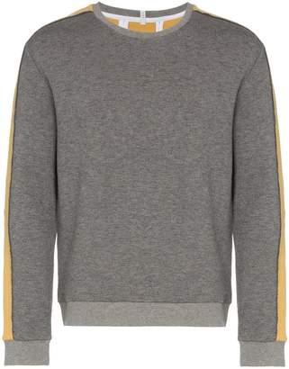 Lot 78 Lot78 contrast stripe knitted jumper