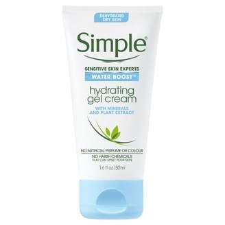 Simple Water Boost Hydrating Gel Cream 50 mL