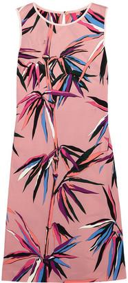Emilio Pucci - Printed Crepe Dress - Pink $1,040 thestylecure.com