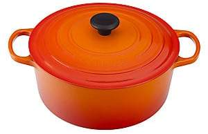 Le Creuset 5.5 Quart Round French Oven - Flame