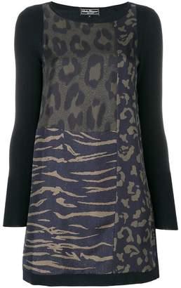 Salvatore Ferragamo animal print blouse