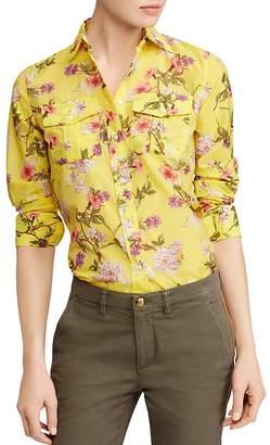 Lauren Ralph Lauren Floral Print Shirt