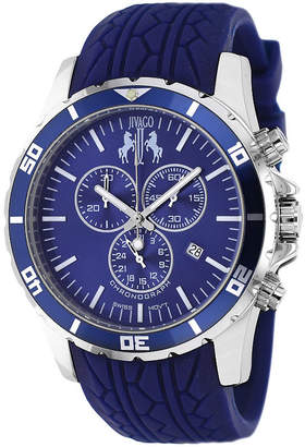 Jivago Mens Blue Strap Watch-Jv0125