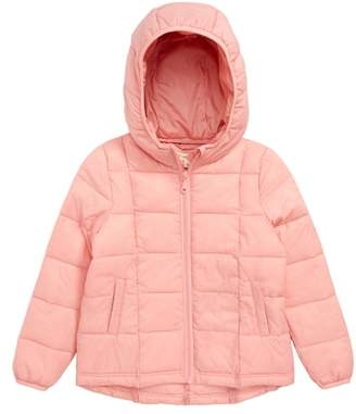 Tucker + Tate Packable Hooded Nylon Puffer Jacket