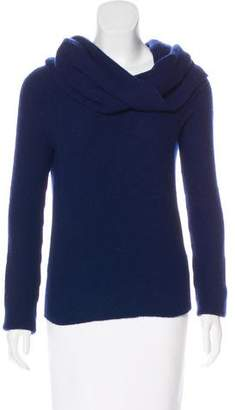 The Row Long Sleeve Cowl Neck Sweater