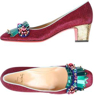 5bc8ad2cf9a Christian Louboutin Square Heel Pumps - ShopStyle