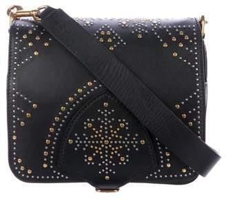 Burberry Studded Mini Leather Satchel Bag