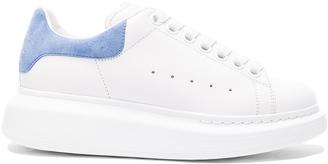 Alexander McQueen Leather Platform Sneakers $575 thestylecure.com