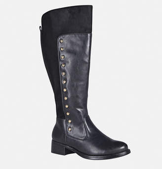 Avenue Janis Side Stud Mixed Media Boot