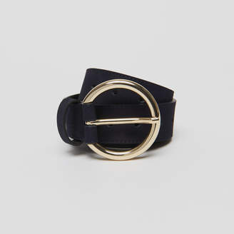 Sandro Belt with large round buckle