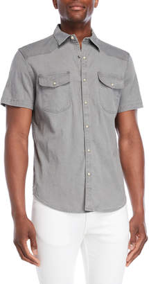Lucky Brand Western Chambray Shirt