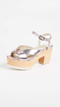 Ouigal Maybelle Block Heel Sandals