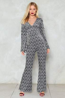 Nasty Gal V Done With It Flare Jumpsuit