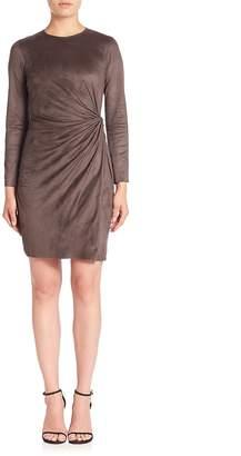 Natori Women's Knot Faux Wrap Dress
