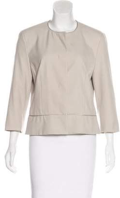 St. Emile Collarless Long Sleeve Blazer w/ Tags