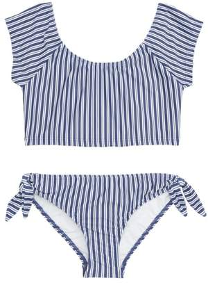 Seafolly Ocean Tapestry Stripe Two-Piece Swimsuit