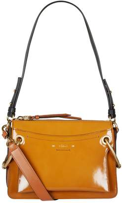 Chloé Small Patent Leather Roy Shoulder Bag