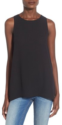 Women's Lush Side Slit Tank $34 thestylecure.com