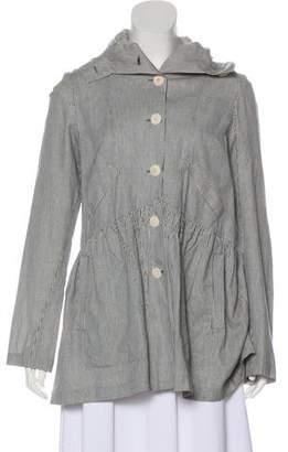 Morgane Le Fay Lightweight Linen-Blend Coat