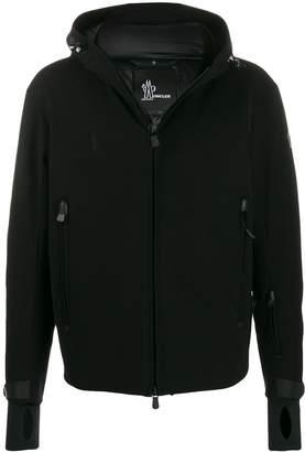 Moncler padded zip-up hoodie