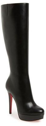 Women's Christian Louboutin 'Bianca Botta' Platform Boot $1,545 thestylecure.com