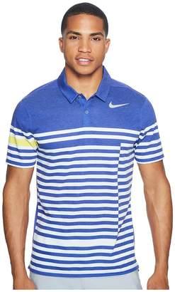 Nike Modern Fit TR Dry 4/1 Print Men's Short Sleeve Pullover