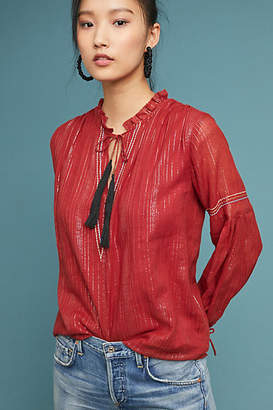 Dolan Left Coast Marlene Peasant Top