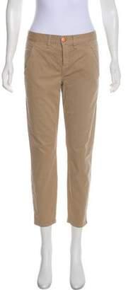 Crippen Mid-Rise Straight-Leg Pants w/ Tags