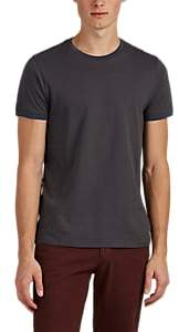 Barneys New York MEN'S CONTRAST-TRIMMED COTTON T-SHIRT