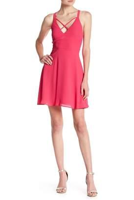 Lush Woven Crisscross Dress