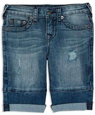 True Religion Boys' Geno Denim Shorts - Little Kid, Big Kid