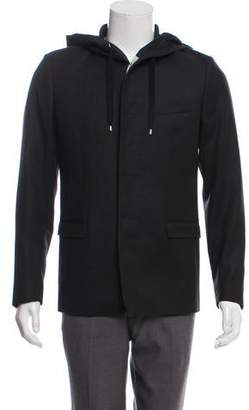 Christian Dior Wool Hooded Blazer