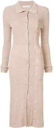 CHRISTOPHER ESBER knitted midi dress