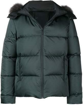 Fendi fur hooded jacket