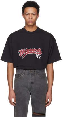 Vetements Black Bro Logo T-Shirt