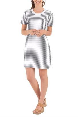 Mud Pie Striped Shirt Dress $52 thestylecure.com