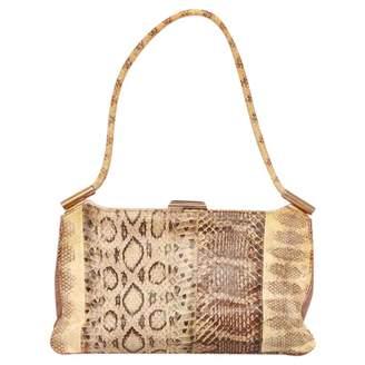 Ungaro Vintage Beige Leather Handbag