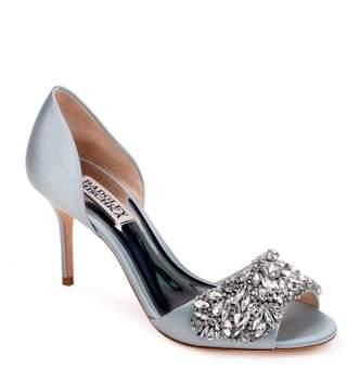 Badgley Mischka Hansen Crystal Embellished Sandal