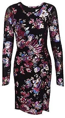Parker Women's Briza Metallic Floral Bodycon Dress