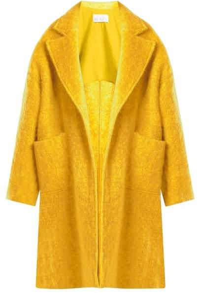 Raey Dropped-shoulder wool-blend blanket coat