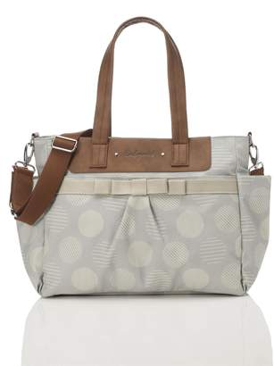 Babymel Motherhood Maternity Cara Retro Diaper Bag- Grey Dot
