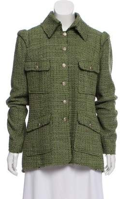 Chanel Structured Tweed Jacket