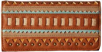 American West El Dorado Flap Wallet Wallet Handbags