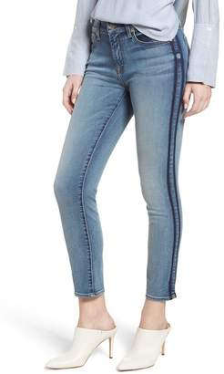7 For All Mankind Roxanne Shadow Stripe Ankle Jeans